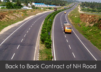 Back to Back Contract of NH Road